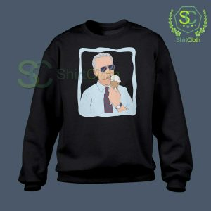 Joe-Biden-Ice-Cream-Black-Sweatshirt