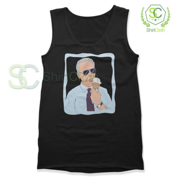 Joe-Biden-Ice-Cream-Black-Tank-Top