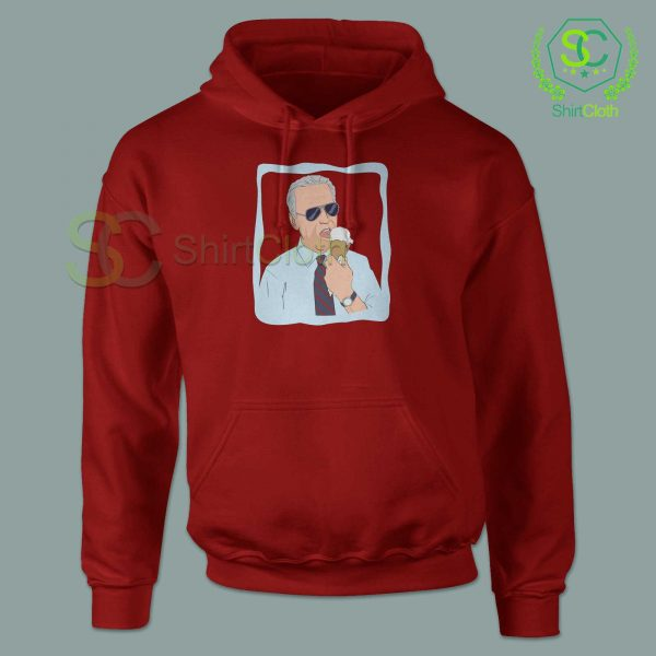 Joe-Biden-Ice-Cream-Red-Hoodie