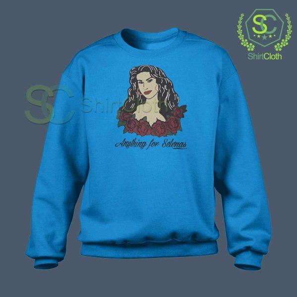 Anything-For-Selenas-Blue-Sweatshirt