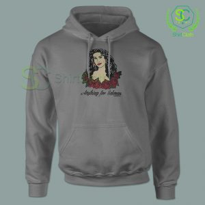 Anything-For-Selenas-Gray-Hoodie