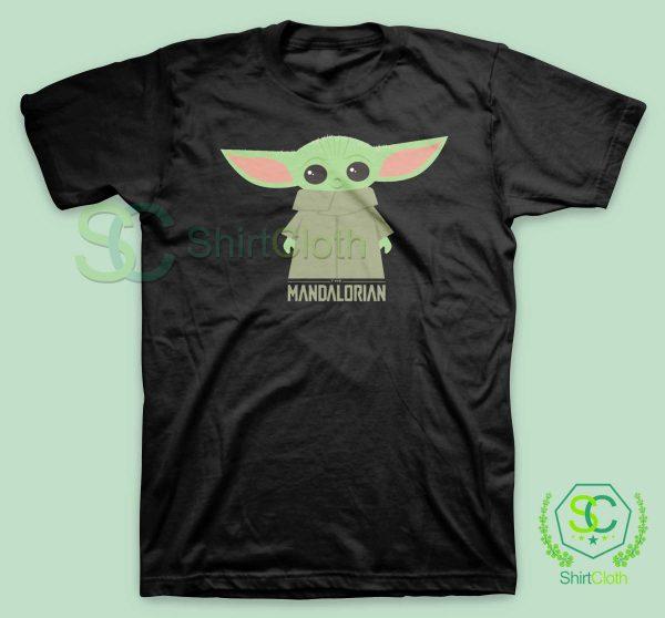 Baby-Yoda-The-Mandalorian-Black-T-Shirt