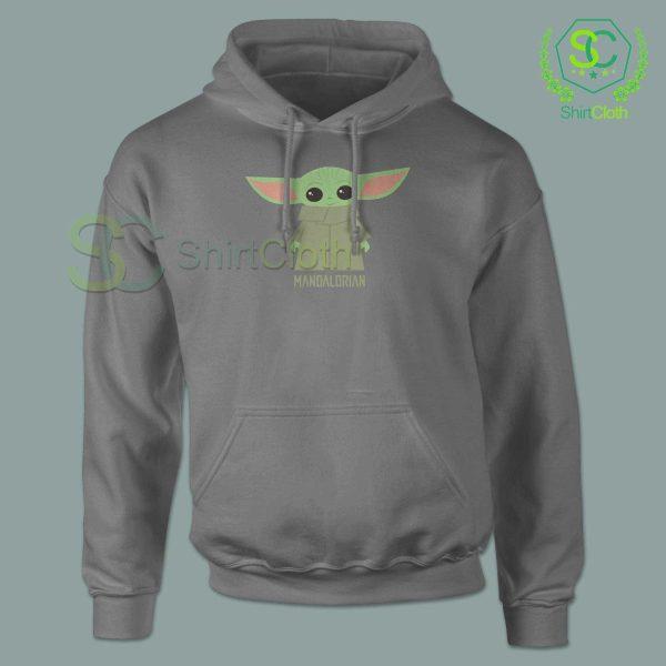Baby-Yoda-The-Mandalorian-Gray-Hoodie