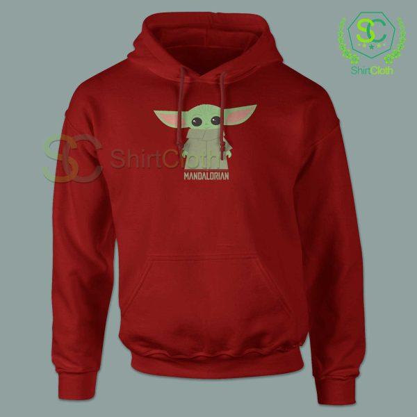 Baby-Yoda-The-Mandalorian-Red-Hoodie