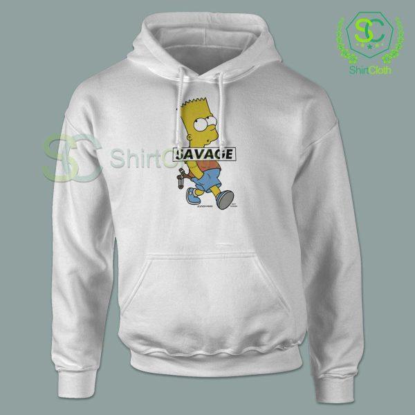 Bart-Simpson-Savage-Hoodie