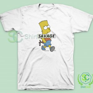 Bart-Simpson-Savage-T-Shirt
