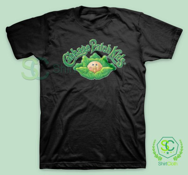 Cabbage-Patch-Kids-Black-T-Shirt