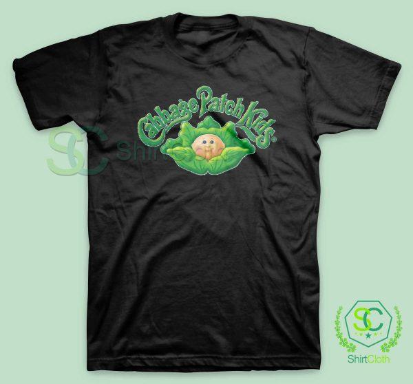 Cabbage-Patch-Kids-Black-T-Shirt