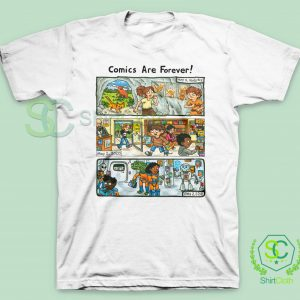 Comic-Are-Forever-T-Shirt