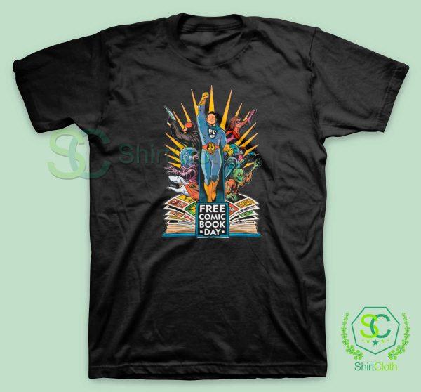 Free-Comic-Book-Day-Black-T-Shirt