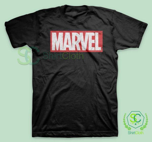 Marvel-Logo-Black-T-Shirt