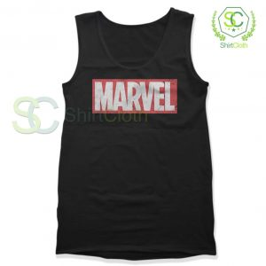 Marvel-Logo-Black-Tank-Top