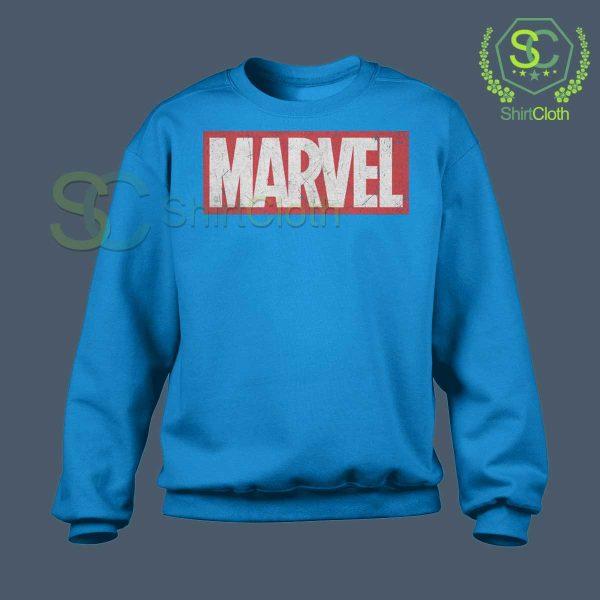 Marvel-Logo-Blue-Sweatshirt