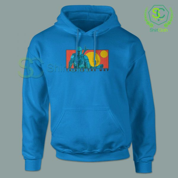 This-Is-The-Way-Blue-Hoodie