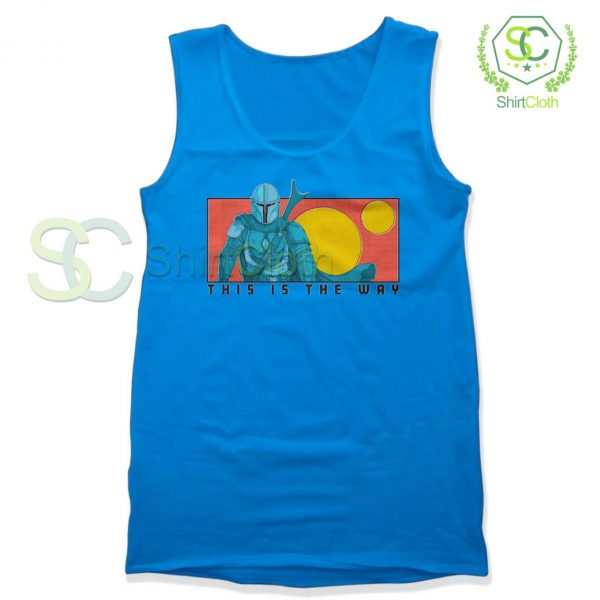 This-Is-The-Way-Blue-Tank-Top