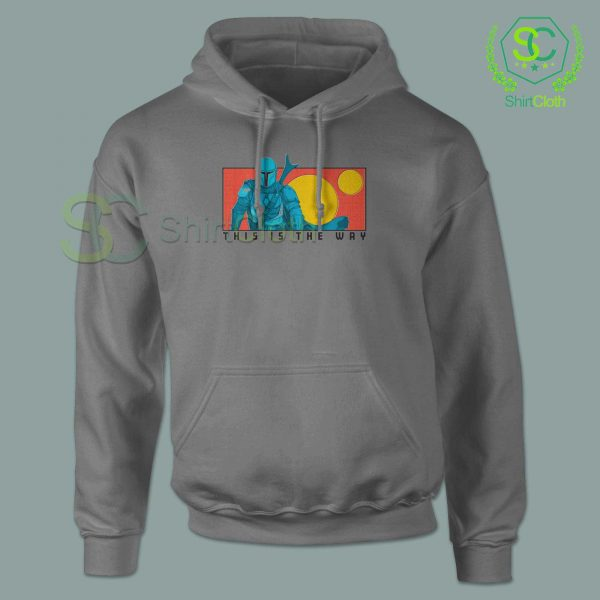 This-Is-The-Way-Gray-Hoodie