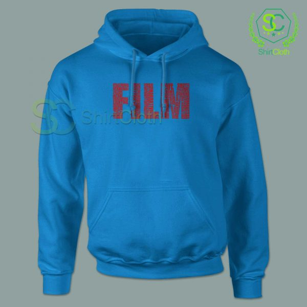 Black-and-White-Movies-Typography-Blue-Hoodie