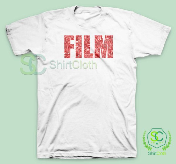 Black-and-White-Movies-Typography-T-Shirt