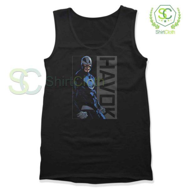 Havok-Marvel-Black-Tank-Top