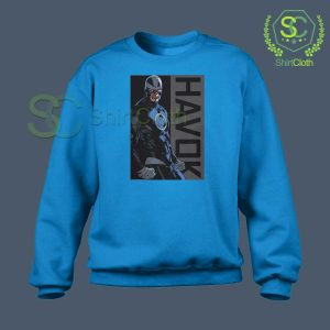 Havok-Marvel-Blue-Sweatshirt