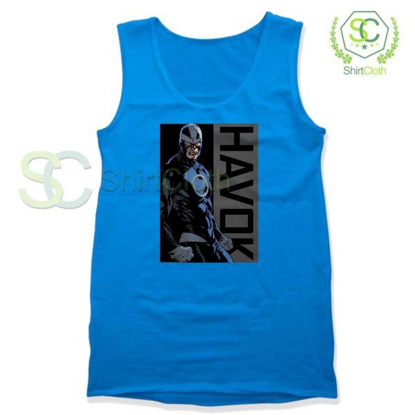 Havok-Marvel-Blue-Tank-Top