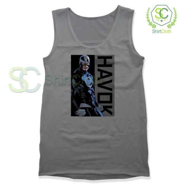 Havok-Marvel-Grey-Tank-Top