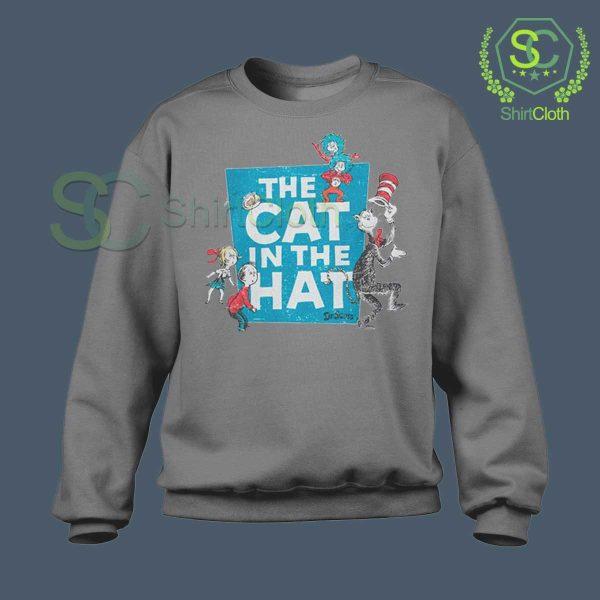 The-Cat-in-the-Hat-Logo-Grey-Sweatshirt