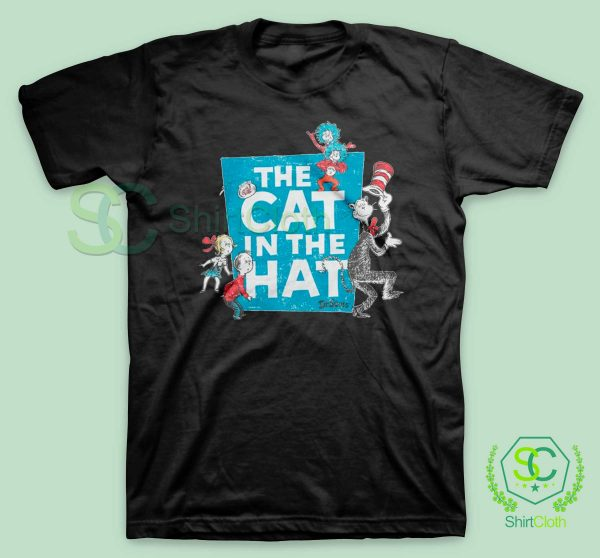 The-Cat-in-the-Hat-Logo-T-Shirt