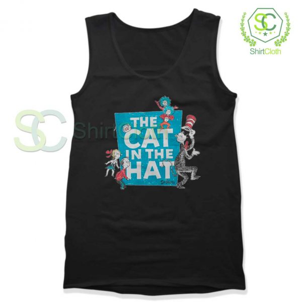 The-Cat-in-the-Hat-Logo-Tank-Top