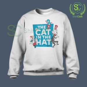 The-Cat-in-the-Hat-Logo-White-Sweatshirt