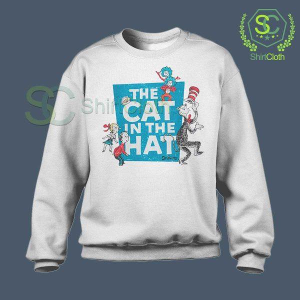 The-Cat-in-the-Hat-Logo-White-Sweatshirt