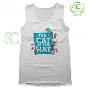 The-Cat-in-the-Hat-Logo-White-Tank-Top