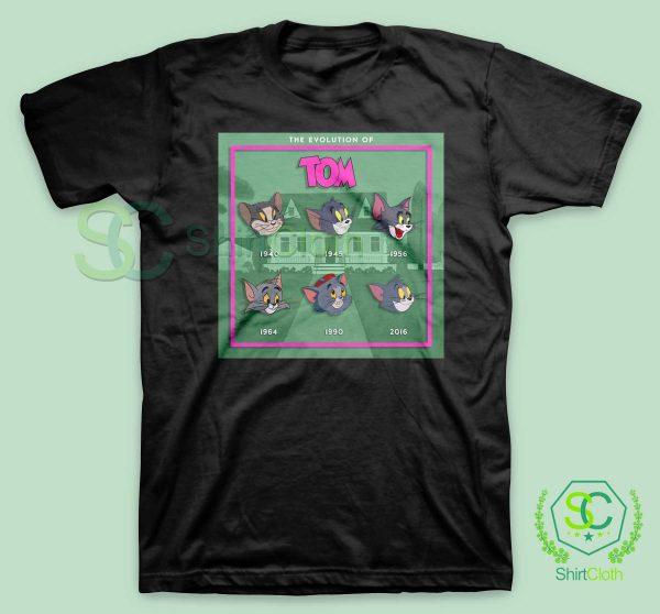 The Evolution Of Tom T Shirt