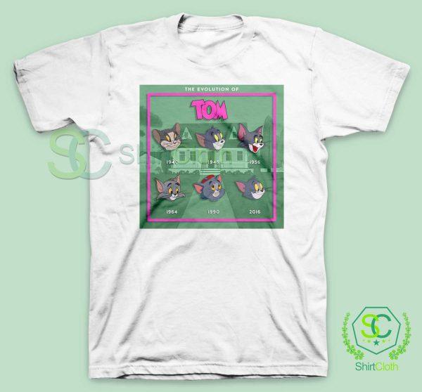 The-Evolution-Of-Tom-White-T-Shirt
