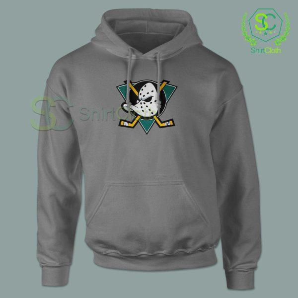 The-Mighty-Ducks-Gray-Hoodie