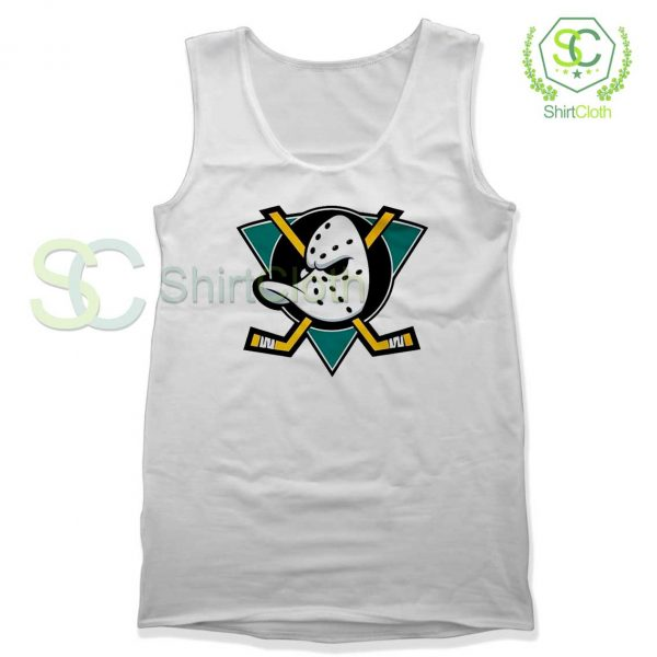 The-Mighty-Ducks-White-Tank-Top