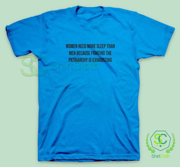 Women-Need-More-Sleep-Blue-T-Shirt