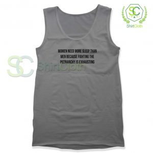 Women-Need-More-Sleep-Gray-Tank-Top