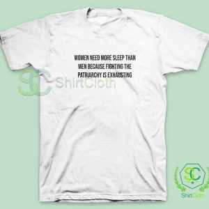Women-Need-More-Sleep-T-Shirt