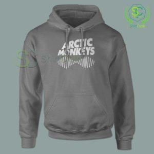 Arctic Monkeys Music Band Gray Hoodie