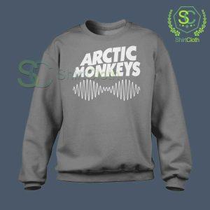 Arctic-Monkeys-Music-Band-Gray-Sweatshirt