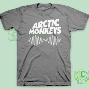 Arctic-Monkeys-Music-Band-Gray-T-Shirt