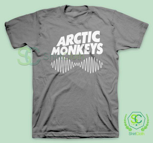 Arctic Monkeys Music Band Gray T Shirt