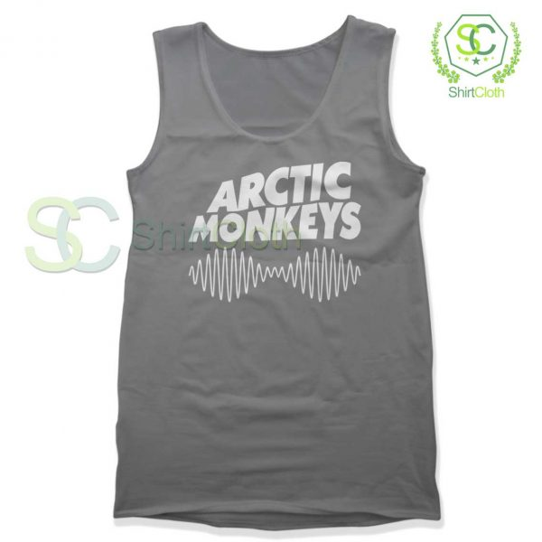 Arctic-Monkeys-Music-Band-Gray-Tank-Top