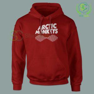 Arctic Monkeys Music Band Red Hoodie