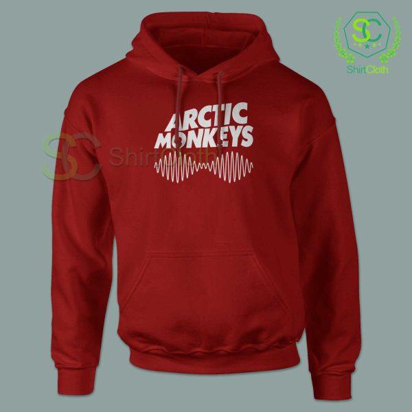 Arctic-Monkeys-Music-Band-Red-Hoodie