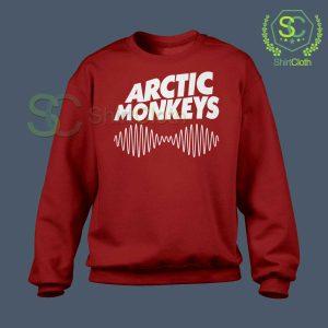 Arctic-Monkeys-Music-Band-Red-Sweatshirt
