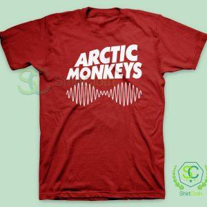 Arctic-Monkeys-Music-Band-Red-T-Shirt
