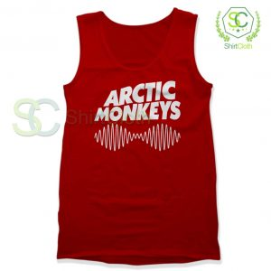 Arctic Monkeys Music Band Red Tank Top