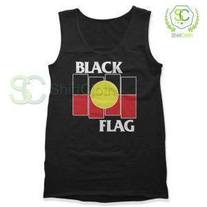 Black Flag X Aboriginal Black Tank Top